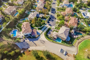 Drone captured Images- Residences