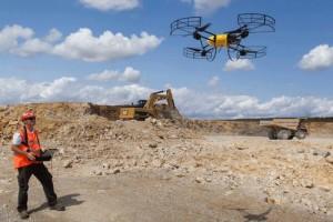 Drones Integrating with Autonomous Machines