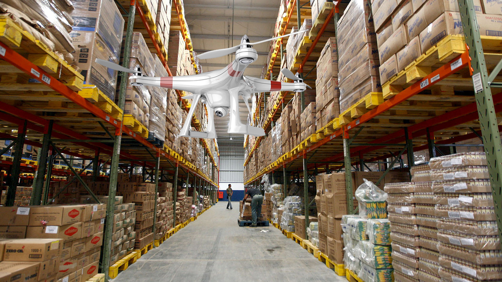 Drones Monitor Inventory Levels In Walmart Warehouses